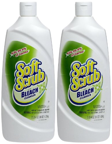 Soft Scrub Cleanser With Bleach 6 36oz Pack Of 6 Inosoc