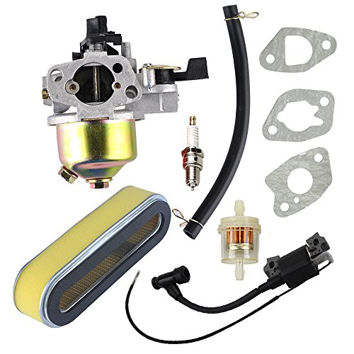 Butom HR215 Carburetor with Ignition Coil Air Filter for Honda